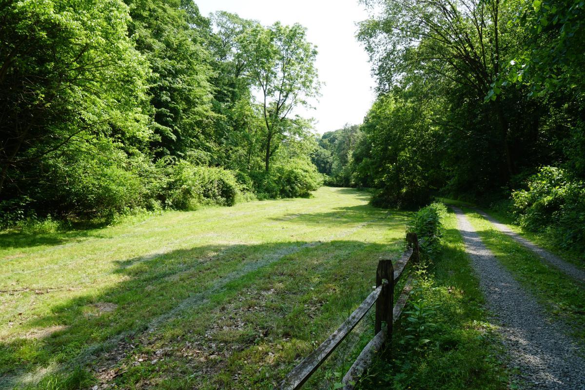 Hardie Valley Park entrance